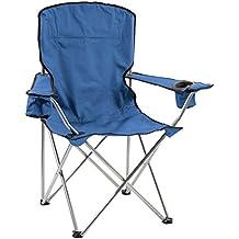 Quik Chair Deluxe Folding Armchair, Navy