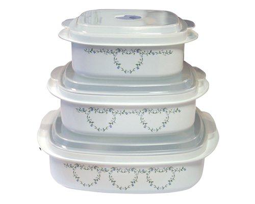 Corelle Coordinates 6-Piece Country Cottage Microwave Cookware Set