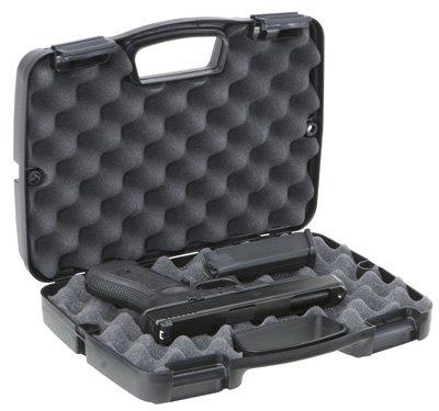 Plano Molding 10-10137 Pistol Case, Black