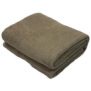 Snuggle Touch Fleece Throw, Praline, 140 x 200 Cm