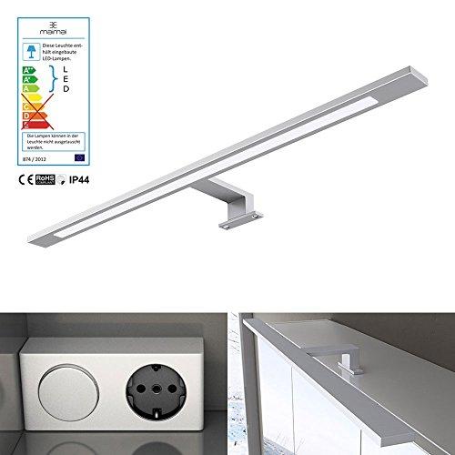 breite 60cm 9w led spiegellampe trafo mit schalter und. Black Bedroom Furniture Sets. Home Design Ideas