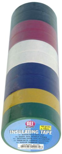 Isolierband-bunt-Klebeband-Tape-10-Teilig-10-Rollen-a-10-Meter-18mm-breit-Isolier-Band-bunt