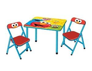 Sesame Street Activity Table Chair Set