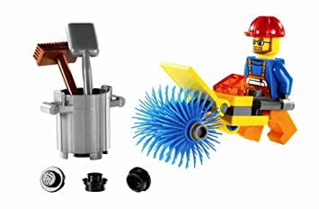 Lego - 5620 - Jeu de construction - LEGO City - Le balayeur