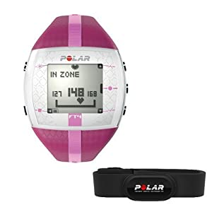 Polar FT4 Womens Heart Rate Monitor - Polar FT4 Water Resistant Time & Heart Watch