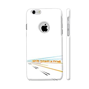 Colorpur And Leave A Trail Artwork On Apple iPhone 6 / 6s Logo Cut Cover (Designer Mobile Back Case) | Artist: Urvashi