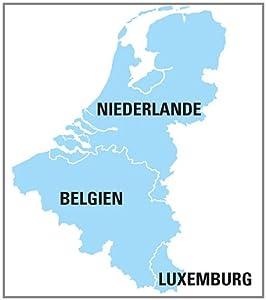 Falk Premium Outdoor-Karte Benelux für Ibex und Lux