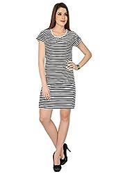 The Cotton Company Women's Interlaken Luxury Boutique Dress - Onyx Black - XL
