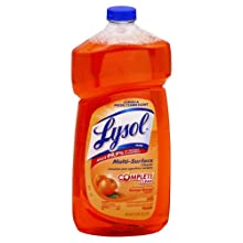 Lysol 78625 40 Oz. Orange Breeze Pourable All Purpose Cleaners (Pack of 9)