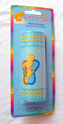 Care Bears Baby Sweet Dreams Wall Border 15 Feet Featuring Care Bears and Stars - 1