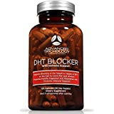 DHT Blocker with Immune Support - Hair Loss Supplements, High Potency Saw Palmetto, Green Tea & Probiotics, Gluten-Free, Vegetarian - 120-count bottle - 90 Day Moneyback Guarantee
