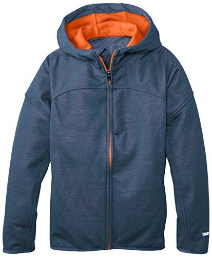 BURTON Boys Chill Softshell Jacket, Dark Denim Heather, Medium