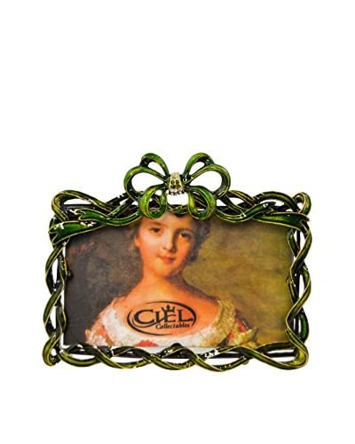 Jeweled 3 x 5 Picture Frame, Green