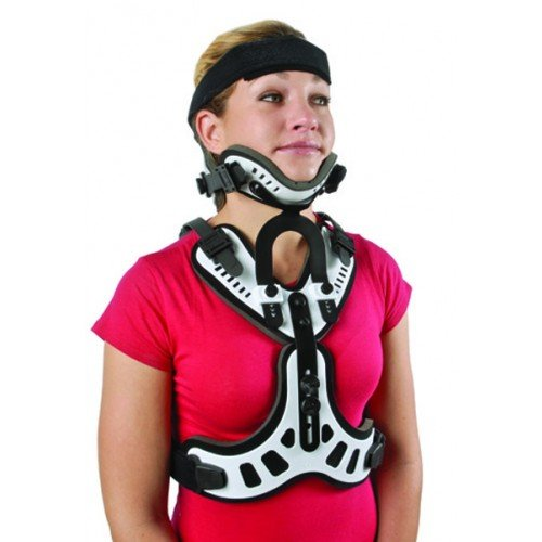 Cybertech Cervical Thoracic Minerva Orthosis - Halo Brace-S/M<br />