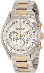 Nautica Men's N22618G BFD 104 Chronograph Movement Watch