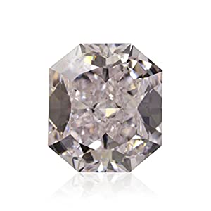 1.45Cts Very Light Pink Loose Diamond Natural Color Radiant Cut GIA Certificate