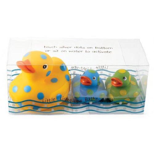 Light Up Rubber Duck Set (Boy) by Mud Pie - 1