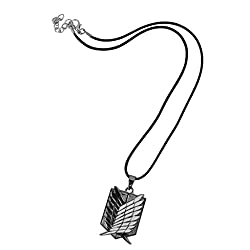 Imported Attack on Titan Wings of Freedom Pendant Necklace