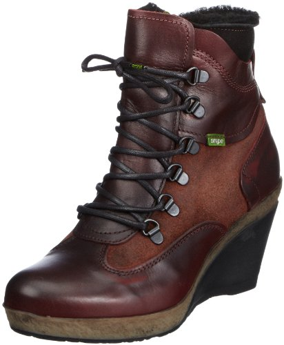 Snipe Noria 13 Ankle Boots Womens Red Rot (wine/black) Size: 6.5 (40 EU)