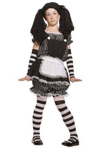 Child Gothic Dolly (Large) (Wednesday Addams Shoes)
