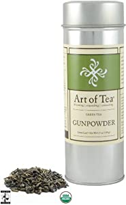 Art of Tea Fair Trade Organic Gunpowder Loose Leaf Green Tea 4.5oz from Art of Tea