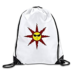 BOoottty Praise The Cool Sun With Sunglass Drawstring Backpack Bag