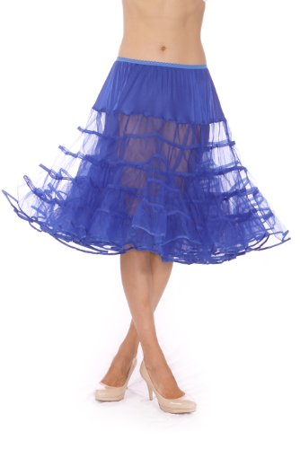 #1 Rated 50's Petticoat for Women, by Malco Modes. Knee-length, for vintage dresses or poodle skirt costume
