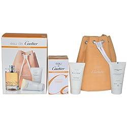 Cartier Eau De Cartier Essence Dorange Men Kit