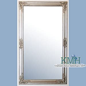 wandspiegel silber antik design 120 x 70 cm spiegel k che haushalt. Black Bedroom Furniture Sets. Home Design Ideas