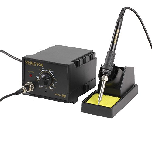 Soldering station 936 Rework Soldering Iron SMD Desoldering Solder Station Stand ESD smd soldering station soldering station kit soldering station iron  available at amazon for Rs.1798