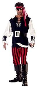 California Costumes Men's Adult Cutthroat Pirate Costume from California Costumes