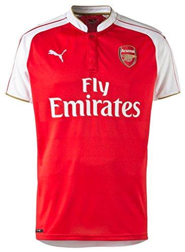 プーマ アーセナルFC ホームユニフォーム 2015/16 [プレミアリーグバッジ付き] [11 エジル] [サイズ:インポートXL] Puma Arsenal FC Home Shirt 2015/16 [Premier League Badges] [11 Ozil] [Size:Inport XL] [並行輸入品]