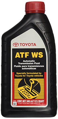 Genuine Toyota Lexus Automatic Transmission Fluid 1QT WS ATF World Standard (4 Pack) (Automatic Transmission Toyota compare prices)