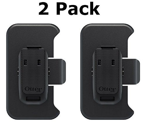 Otterbox Holster Defender Case Replacement Belt Clip for Iphone 4/4s  - Black (2 Pack) (Iphone 4s Belt compare prices)