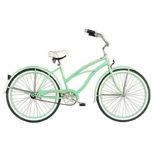 Mint Green Tahiti Women's Beach Cruiser Bike