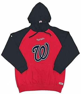 MLB Washington Nationals Youth Big Logo Pullover Hood