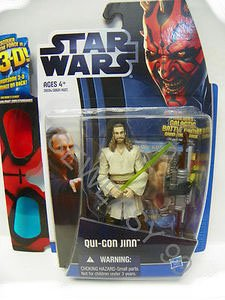 Star Wars 2012 Discover the Force Exclusive Action Figure QuiGon Jinn - 1