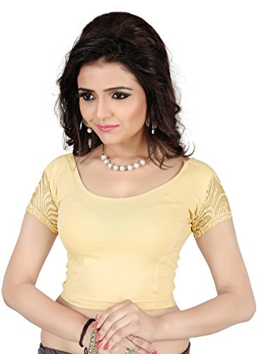 Fressia Readymade Stretchable Saree Blouses  available at amazon for Rs.299