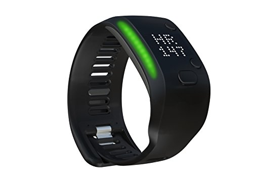 adidas Fit Smart - Fitness and Activity Monitor Wristband - Black, Large