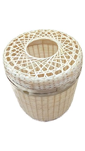 Weave Bamboo Tissue Box (Red Sox Trash Can compare prices)