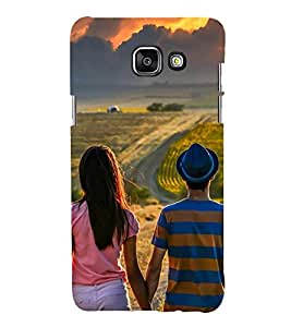 Vizagbeats couple watching clouds Back Case Cover for SAMSUNG A5 2016
