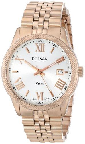 Pulsar Bracelet Silver-Tone Dial Women's Watch #PS9232