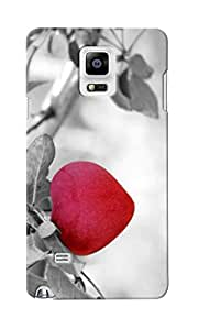 CimaCase Hanging Heart Designer 3D Printed Case Cover For Samsung Galaxy Note 4