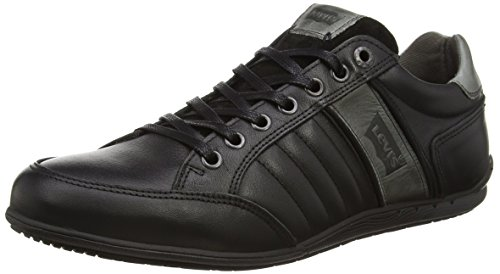 Levi'S - Sebastopol Refresh, Sneakers da uomo, nero (59 regular black), 43