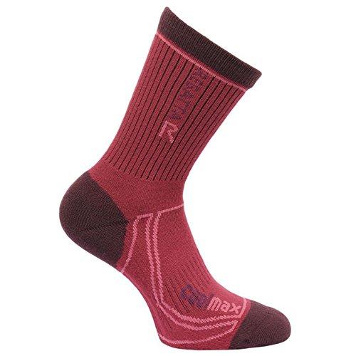 regatta-ladies-2-season-coolmax-trek-trail-sock-dark-burgundy-dark-pimento-3-5