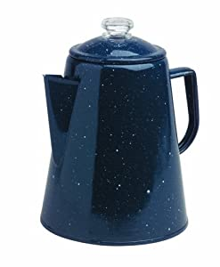 Granite Ware 1.7 Imp.Quart Coffee Percolator, Blue