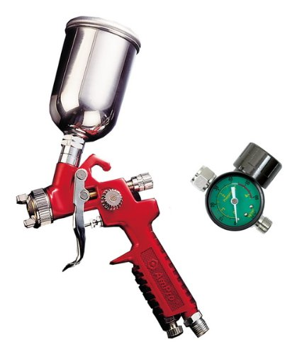 Ampro AR6029 Mini Touch-Up HVLP Spray Gun with Regulator