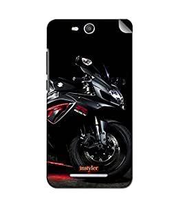 instyler MOBILE STICKER FOR MICROMAXCANVAS JUICE3 Q392