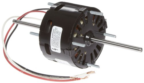 """Fasco D129 3.3"""" Frame Open Ventilated Shaded Pole General Purpose Motor WithSleeve Bearing, 1/125-1/200Hp, 1500Rpm, 115V, 60Hz, 0.4-.3 Amps"""