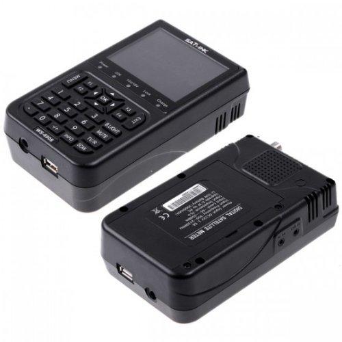 "SATlink WS-6908 3.5"" DVB-S FTA Professional Digital Satellite Signal Finder Meter"